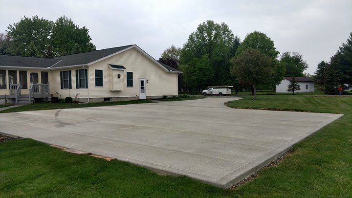 Samson Concrete Central Ohio Brick and Stone Driveway Installation
