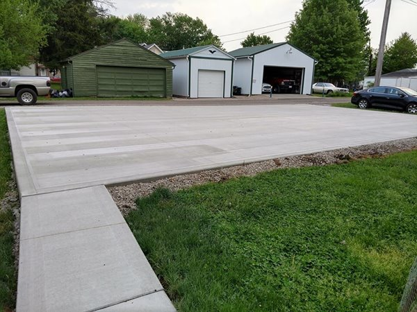 Samson Concrete Central Ohio Basketball Court Resurfacing