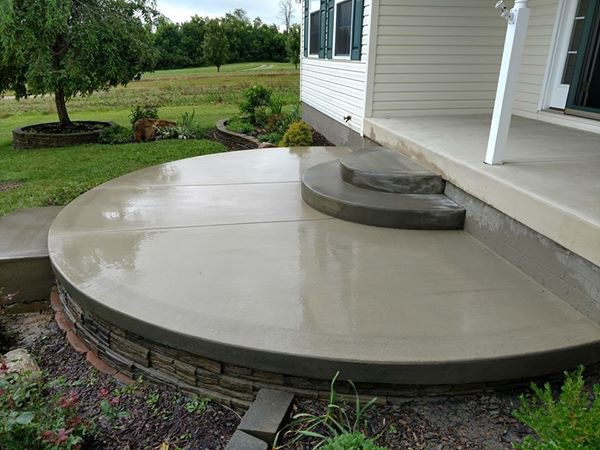 Samson Concrete Central Ohio Faux Paving